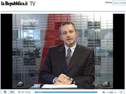 Michele Santoro a Repubblica TV
